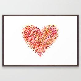 Love is Colorblind Framed Art Print