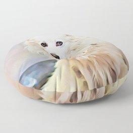 American Eskimo Dog Floor Pillow