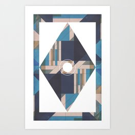 Covered Glass Art Print
