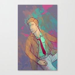 Neon City Canvas Print