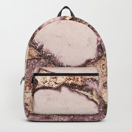 GEMSTONE AND GOLD BLUSH ROSE Backpack