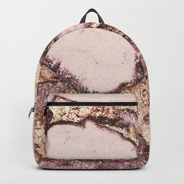 GEMSTONE AND GOLD BLUSH ROSE Backpack