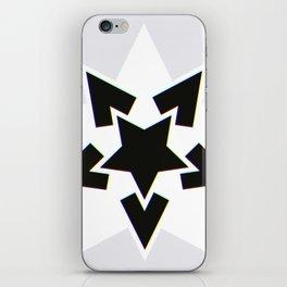 Starry Nightmare? Colourful Edge! iPhone Skin