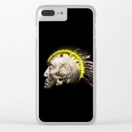 Cyber Punk Chief Clear iPhone Case