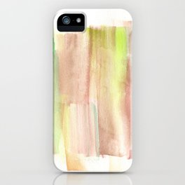 [161228] 22. Abstract Watercolour Color Study |Watercolor Brush Stroke iPhone Case
