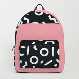 Memphis pattern 50 Backpack