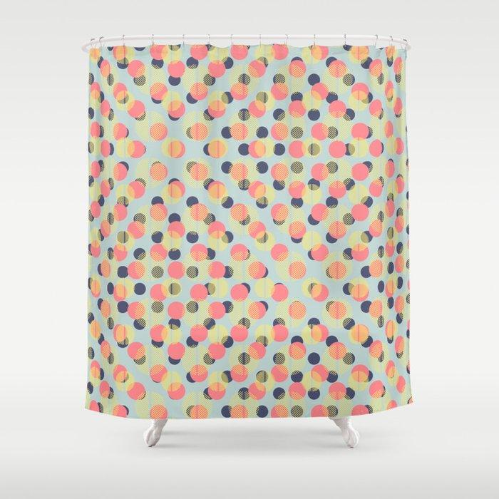 Carnival Confetti Shower Curtain By Designdn