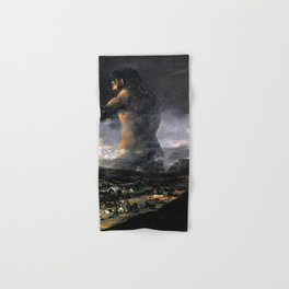 "Francisco Goya ""The Colossus"" Hand & Bath Towel"