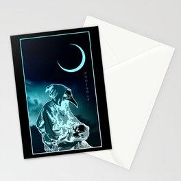 Raven Mask Stationery Cards