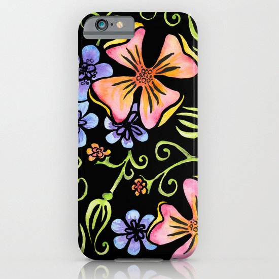 Electric Flora iPhone & iPod Case