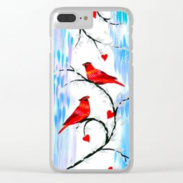 Winter With You Clear iPhone Case