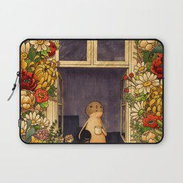 Flower Garden Laptop Sleeve