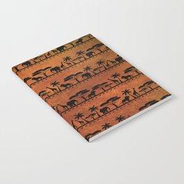 African Animal Pattern Notebook
