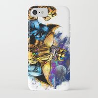 thanos iPhone & iPod Cases featuring Thanos by Vincent Vernacatola