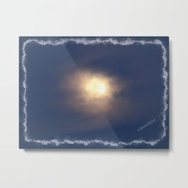 A beautiful moon Metal Print