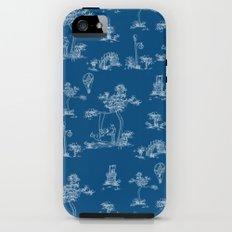 Toile Blue Unicorn iPhone (5, 5s) Tough Case