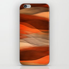 """Sea of sand and caramel waves"" iPhone Skin"