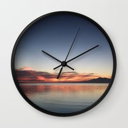 End of Day 1 Wall Clock