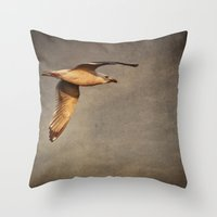 infinite Throw Pillows featuring Infinite by Elke Meister