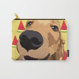 Summer Fun - Golden Retriever Carry-All Pouch