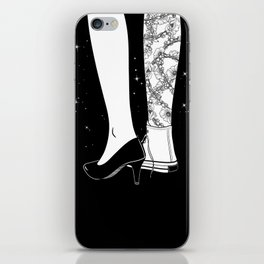 I'm a good woman and a bad girl iPhone Skin