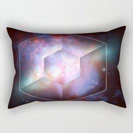 Cigar Galaxy Star Burst Rectangular Pillow