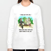 lost in translation Long Sleeve T-shirts featuring LOST in Translation...  The game that goes on FOREVER! by beetoons