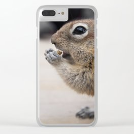 Chipmunk in Banff | Animal Photography | Animals Clear iPhone Case