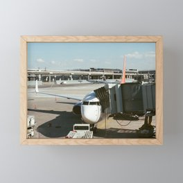 Airports and Planes Framed Mini Art Print