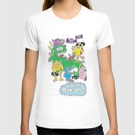 Gnarly Monsters T-shirt