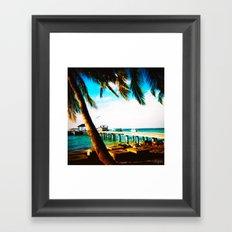Maldives 02 01 Framed Art Print