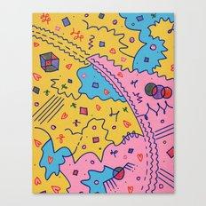 Rory and Lorelai Canvas Print