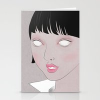 fig Stationery Cards featuring Fig. 1 by Lala Gallardo