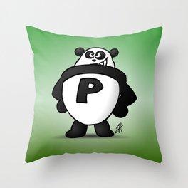 Panda Power Throw Pillow