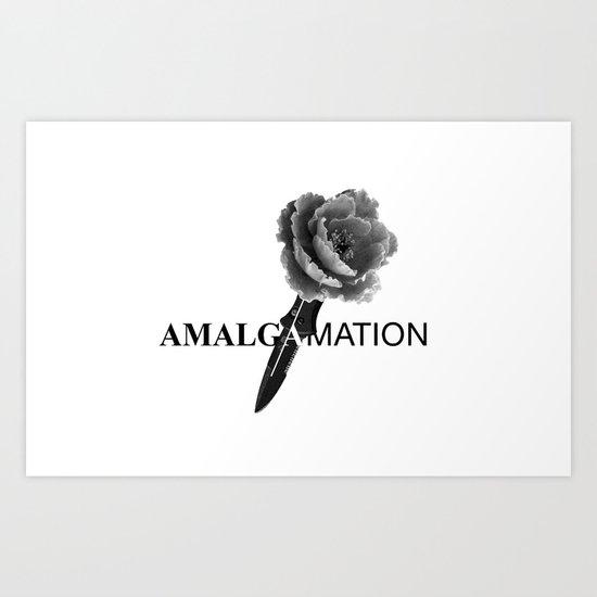 Amalgamation #5 Art Print