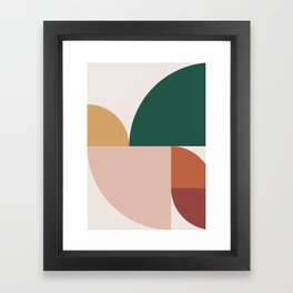 Abstract Geometric 11 Framed Art Print