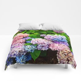 Bouquet of Colors Comforters