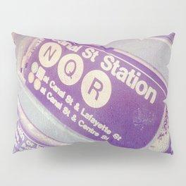 Canal St Subway New York City Pillow Sham