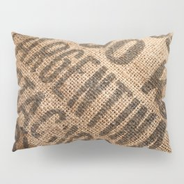 Burlap sack Pillow Sham