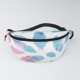 Peaceful Feather Fanny Pack