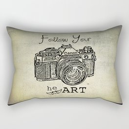 Follow Your (he)ART - Canon Rectangular Pillow