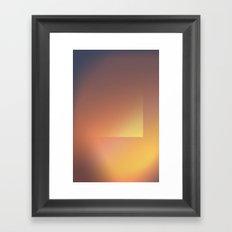 Gradient 2 Framed Art Print