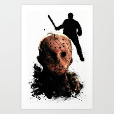 Jason Voorhees: Monster Madness Series Art Print