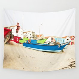 Fishing boats Wall Tapestry