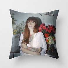 Hattie Floral Throw Pillow
