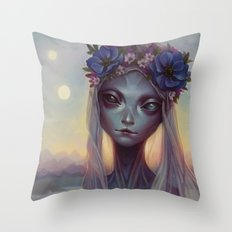 Dreams of Other Worlds Throw Pillow