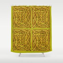 Snaky Shower Curtain