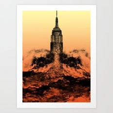 End of an Empire Art Print