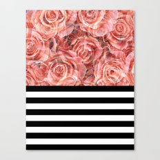 Bouquet of Red Canvas Print
