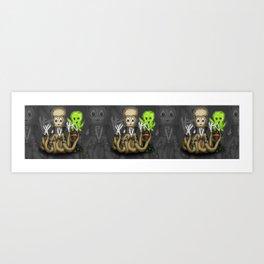 Eduardo Scissor Tentacles Art Print